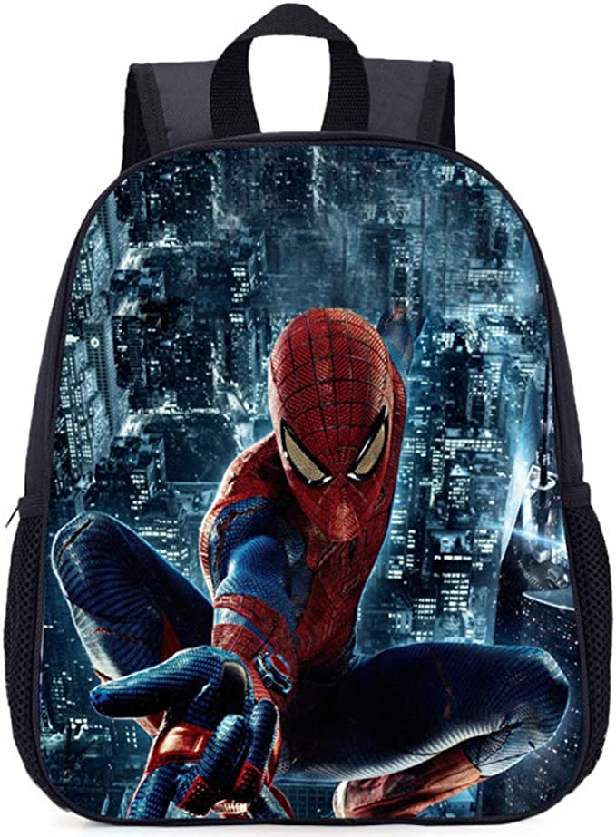 GWZZ Mochila Escolar Primaria NiñoNiña 3 10 Años Spiderman