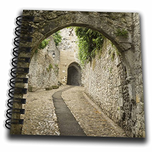 3dRose Danita Delimont - Roads - France, Provence. Ancient walkways in the village of Vaison du Romain. - Mini Notepad 4 x 4 inch (db_257618_3) ()