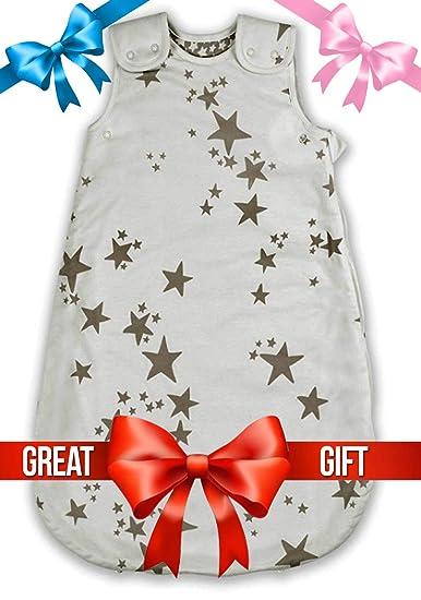 Amazon.com: DocDurham Organic Cotton Baby Sleep Sack -Wearable Blanket- Baby Sleeping Bag: Clothing