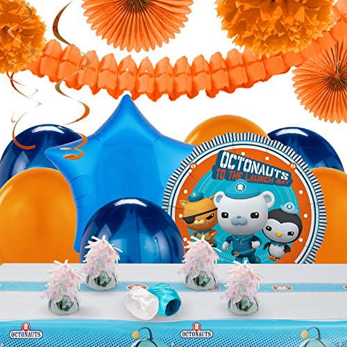 Octonauts Party Decorations - Balloon Table Decorating (Tunip Octonauts Costume)