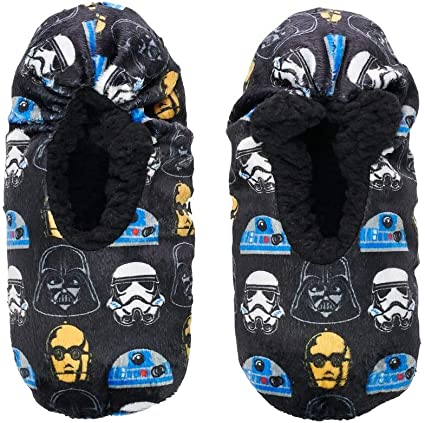 "Marvel Avengers /""Faces/"" Boys Slippers"