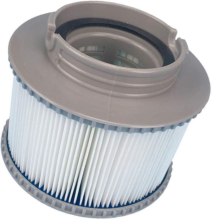 SHANGUP Filtro de repuesto para piscina, bomba de hidromasaje hinchable, cartucho de filtro de agua adecuado para MSPA FD2089
