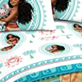 "Disney Moana 'The Wave' 62"" x 90"" Twin Blanket"