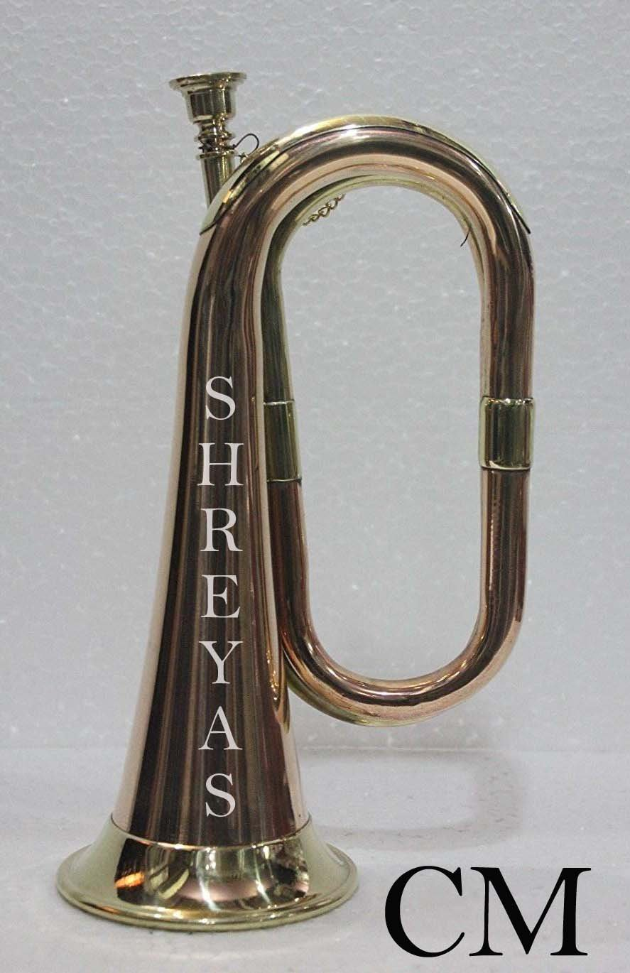 PROFETTIONAL Brass and Copper Bugle - Cavalry US British Army