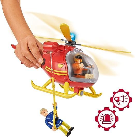Quad 109251014002 Rouge Smoby- Sam Le Pompier H/élicopt/ère