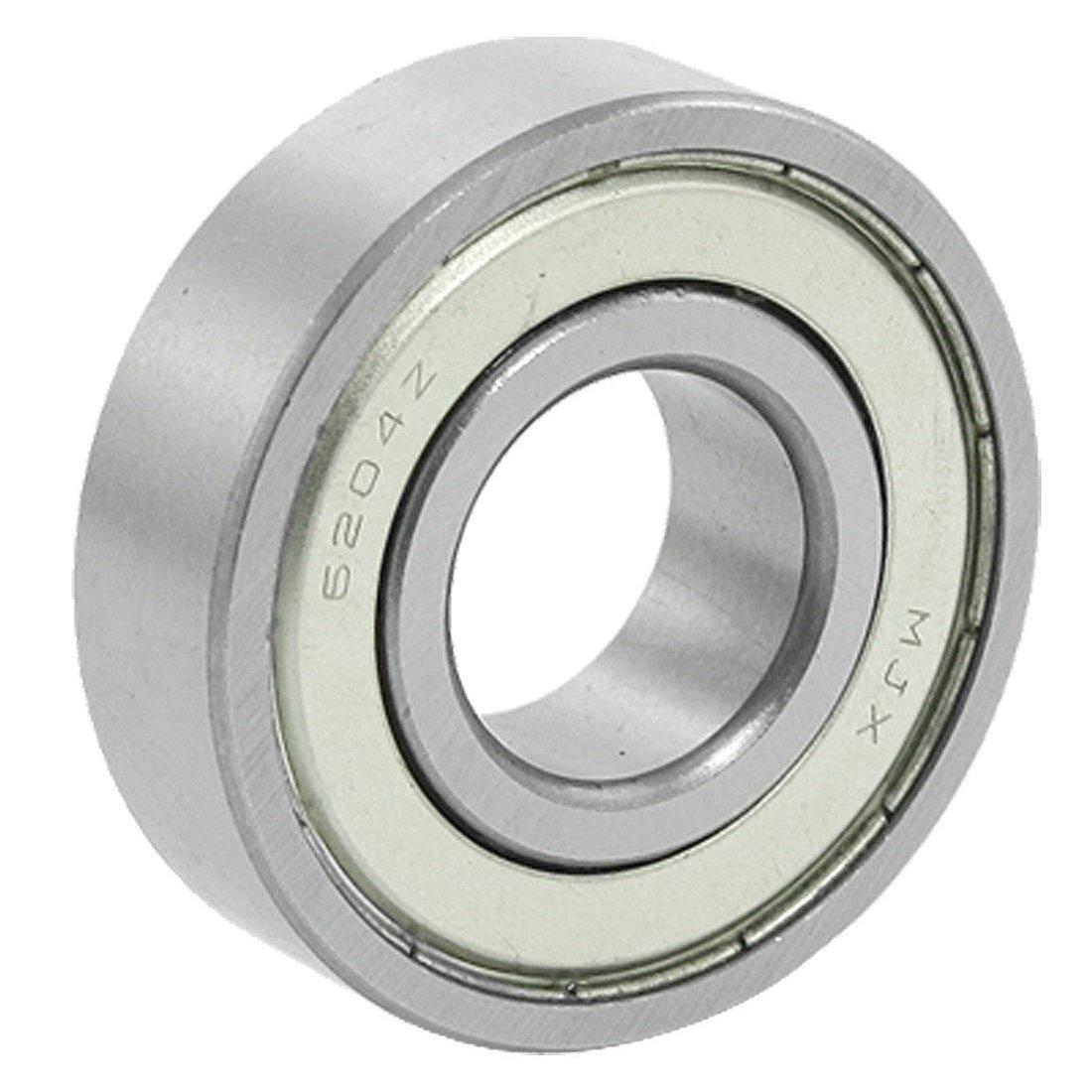 6204Z Ball Bearing - SODIAL(R) 20x47x14mm 6204Z Double Metal Shielded Wheel Axle Ball Bearing