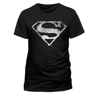 Acier Homme Comics En Homme Logo Superman En Classique D Dc qa1Aw