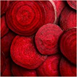 Package of 1,000 Seeds, Bull's Blood Beet (Beta vulgaris) Non-GMO Seeds By Seed Needs