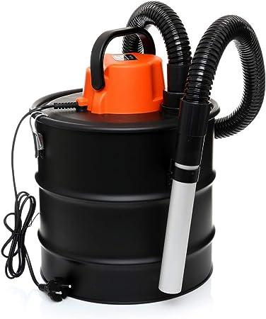 Aspirador de cenizas para chimenea, aspirador de hollín, aspirador de barbacoa, 2000 W, filtro HEPA (KD477): Amazon.es: Hogar