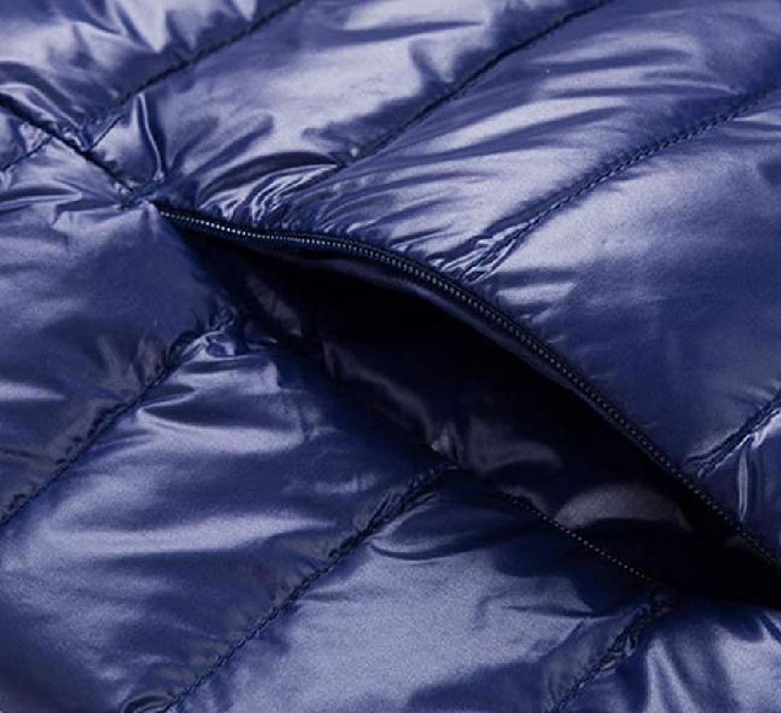Maisicolis Mens Weatherproof Light Weight Simplicity Puffer Packable Vest