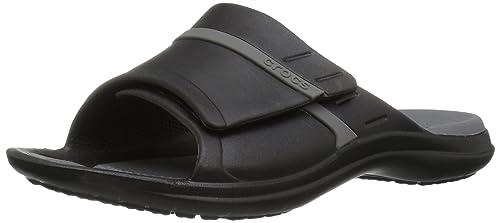 76a9267da69081 crocs MODI Sport Men Slide in Black  Buy Online at Low Prices in India -  Amazon.in
