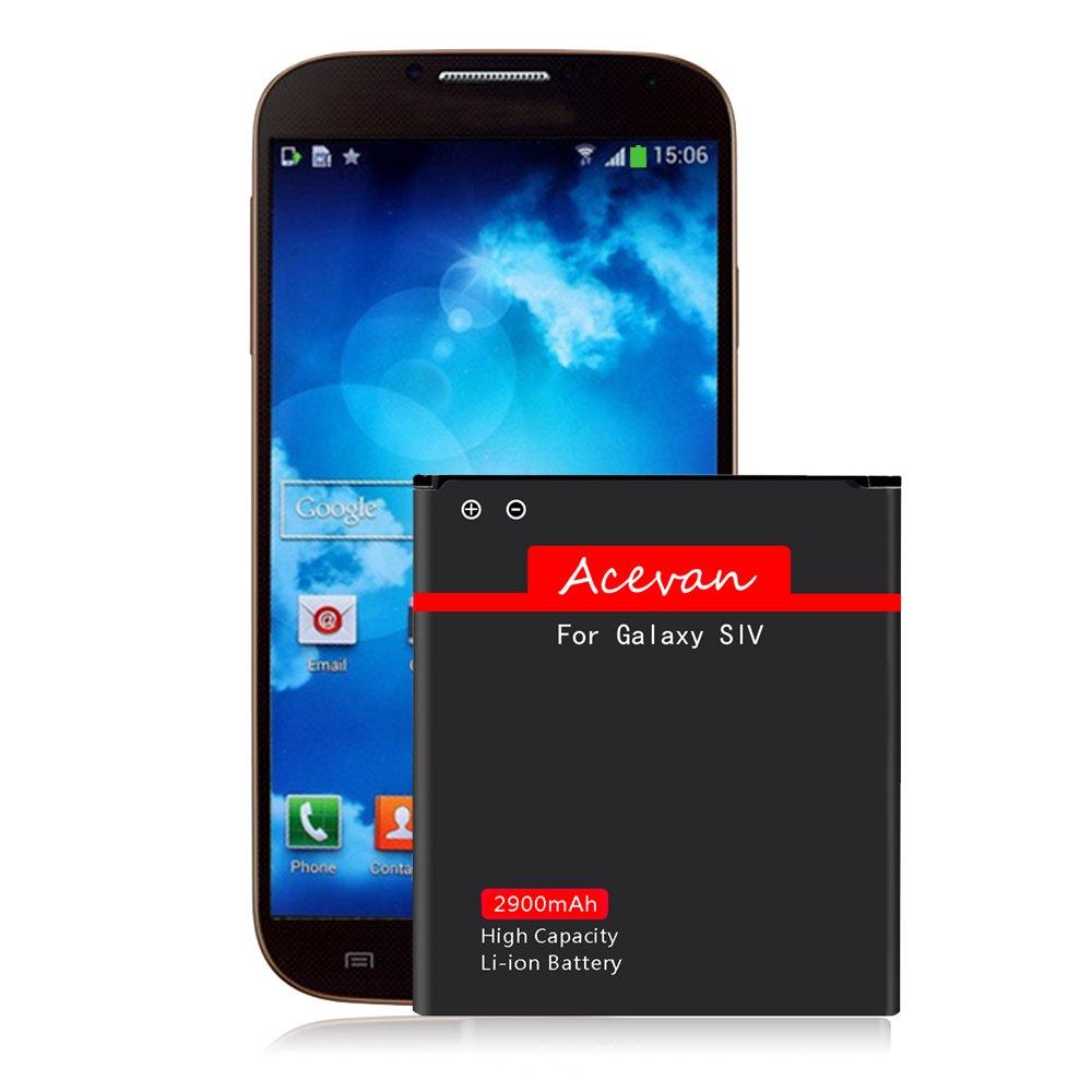 Amazon.com: Galaxy S4 Battery Acevan 2900mAh Li-ion Replacement Battery Samsung  Galaxy S4, at&T I337, Verizon I545, Sprint L720, T-Mobile M919, R970,  I9500, ...