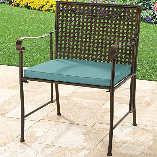BrylaneHome Extra Wide Metal Folding Chair, Haze