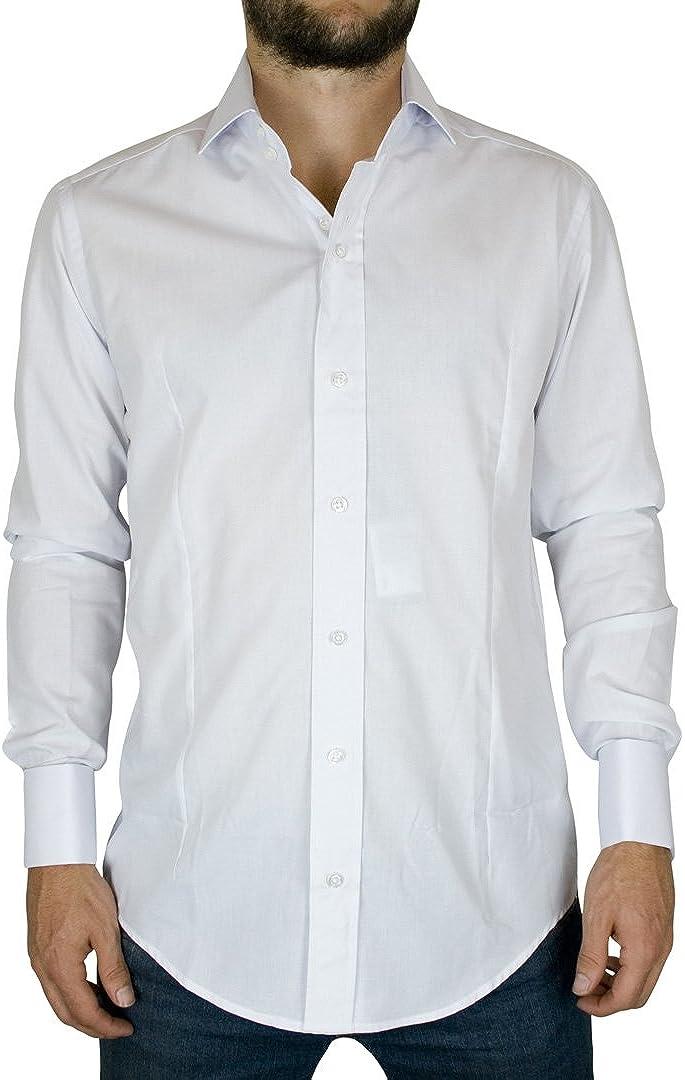 Guía de Londres de - Negro Camisas con puño Doble - para ...