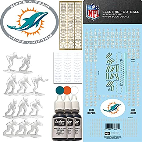 Amazon Tudor Games Nfl Miami Dolphins Nfl Home Uniform Make A