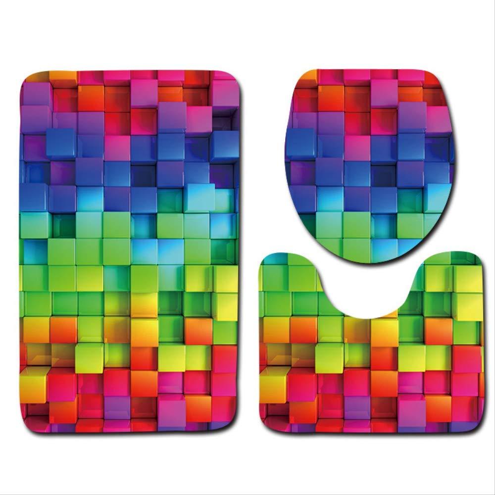 Ba/ño alfombra cubierta ba/ño Mat antideslizante coj/ín base de 500MMx800MM MTD032-11