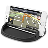 Besiva Car Phone Holder, Car Phone Mount Silicone Phone Car Dashboard Car Pad Mat Various Dashboards, Anti-Slip Desk Phone Stand Compatible With iPhone, Samsung, Android Smartphones, GPS