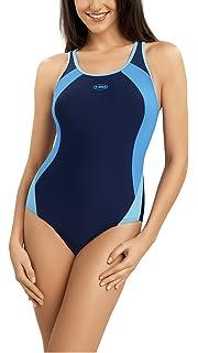 c37288a45386 Gwinner Damen Badeanzug- Geeignet Für Freizeit Und Sport - Ideale Passform  - Beständig Gegen UV