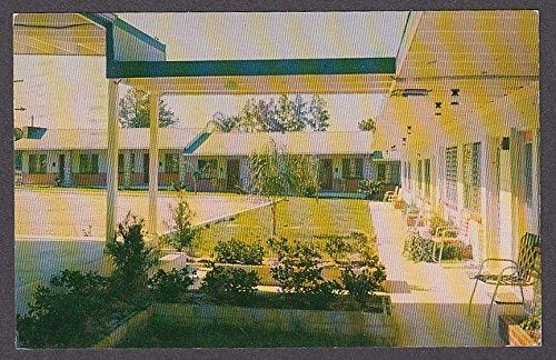 - Swimming Pool Huskey Villa Motel Eustis FL postcard 1959