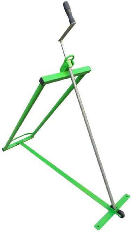 Werkapro - Elevador cortacésped autoportante con Tornillo (Carga máxima: 350 kg), Color Verde