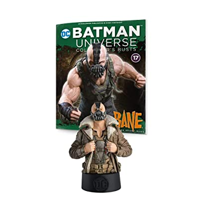 "Eaglemoss DC Batman Universe Collector's Busts: #17 Bane (The Dark Knight Rises) Bust Toy, 5"", Multicolor: Toys & Games"