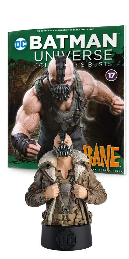 Eaglemoss DC Batman Universe Collectors Busts: #17 Bane 5 Multicolor The Dark Knight Rises Bust Toy