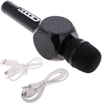 Micrófono Inalámbricos Q7 Karaoke Speaker KTV Microphone Portátil ...