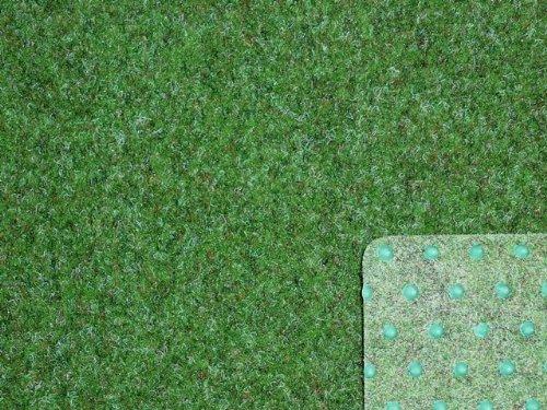 Ta-Bo Lifestyle Premium Kunstrasen Rasenteppich grün 10 mm mit Noppen 200 cm breit, 500x200 cm
