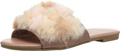 ALDO Women's Pompom Slide Sandal
