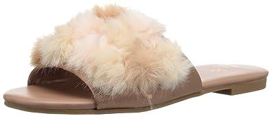 0e187e0bea51 ALDO Women s Pompom Slide Sandal Pink Miscellaneous 6 ...