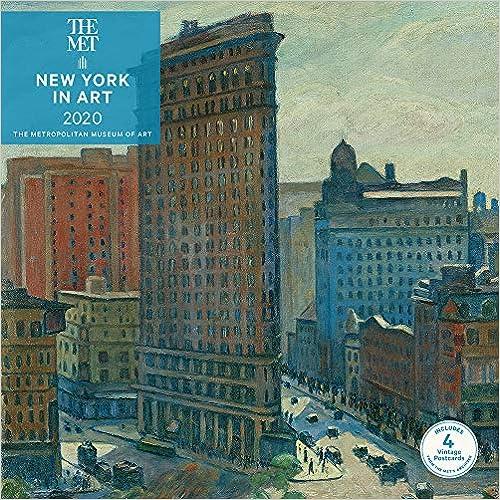 New York in Art 2020 Wall Calendar