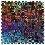 Artifact Puzzles - Dennis Brady Cercles Et Des Carres Wooden Jigsaw Puzzle