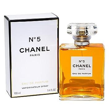 3048e3bca97 Amazon.com   C.h.a.n.e.l. N 5 eau de parfum spray  3.4 oz 100 ml ...