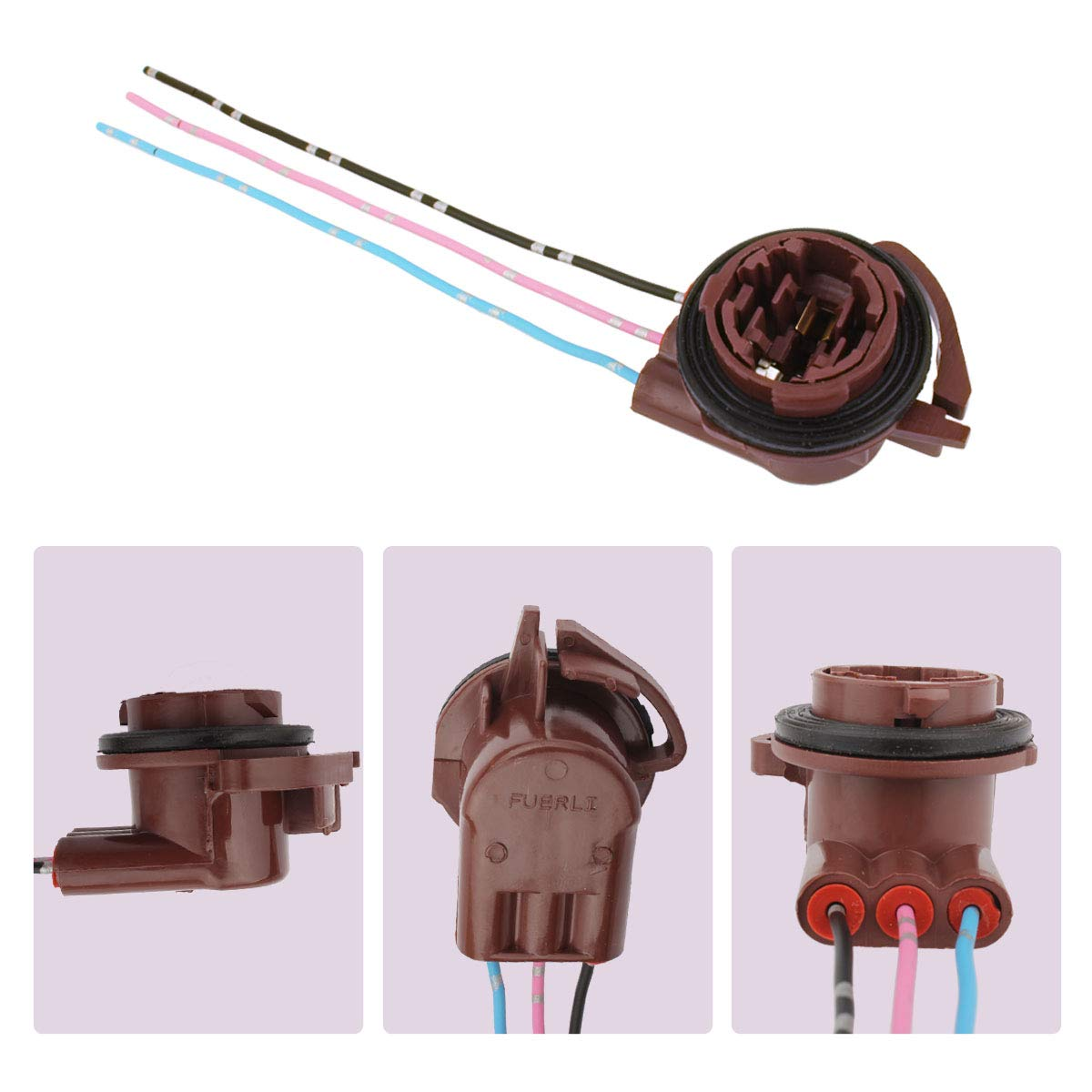 Winka 9005 HB3 H10 Replacement Adapter Plug Socket Cable for Headlights Fog Lights 4PCS 5559043922