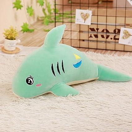 MRWJ 58 cm Lindo Juguete de Peluche de tiburón Suave Relleno ...