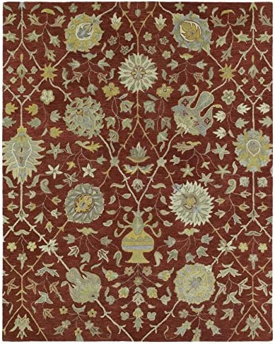 Kaleen Rugs Helena Collection 3202-25 Red Hand Tufted 10 x 14 Rug