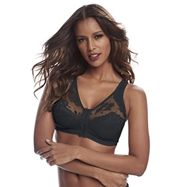 e6d09c8fa8b Cortland Intimates Style 9605 - Front Closure Back Support Bandeau ...