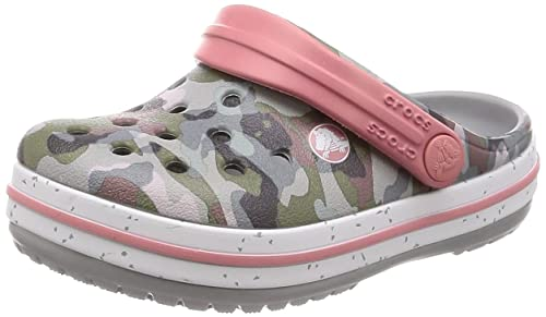 b7c2a6b49a9a4 Crocs Unisex' Crocband Camo Speck Clog Kids: Amazon.co.uk: Shoes & Bags
