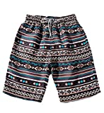 Frieed Matching Couples Drawstring Quick Dry Swim Surfing Boardshort Beach Shorts Men US XXL