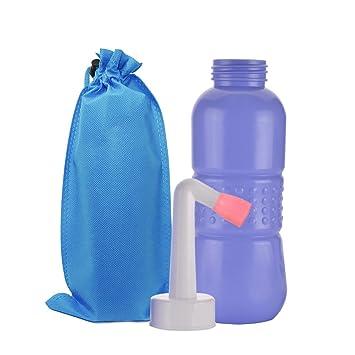 Viaje bidé, ibzera botella portátil de mano bidé - baño inodoro bidé Bottom Spray limpiador limpiaparabrisas higiene Personal Peri de reciclaje botella para ...
