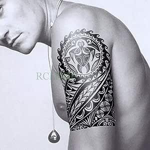 Handaxian 3 Piezas Impermeable Tatuaje Pegatina león Tatuaje ...