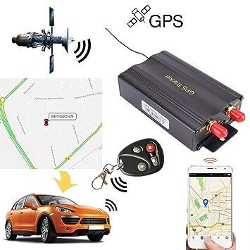 Rastreador GPS SMS TK103B con mando a distancia de control, software versión PC