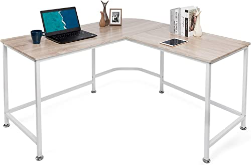Lauraland L Shaped Desk 55 Inch