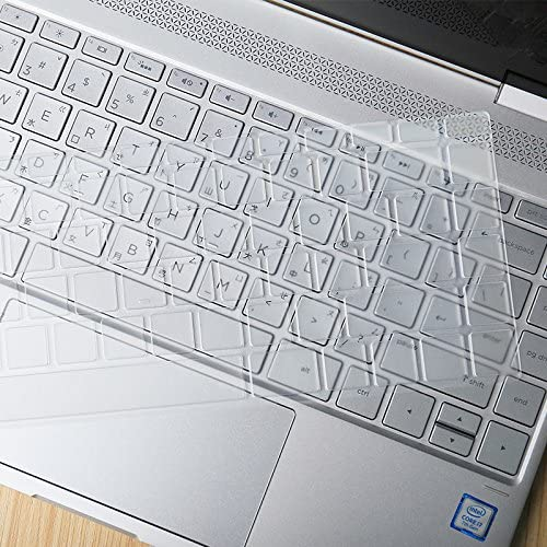 XSKN Keyboard Skin for HP Spectre X360 2-in-1 13.3 13-W013DX 13-W023DX 13-AC013DX 13-AC023DX 13-AC033DX Series Touch-Screen Laptop Ultra Thin Clear TPU Keyboard Cover US layout