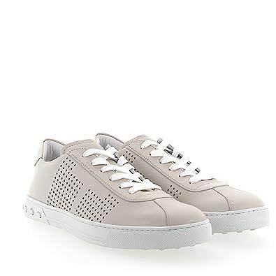 Lochmuster Tod's Y0x990 Sneaker Cremeweiss Leder 0Pvym8nNwO
