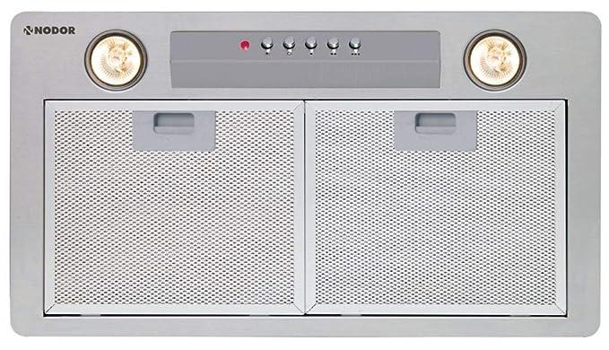 Nodor GAT 850 600 - Campana (Canalizado, 790 m³/h, 49 Db, Incorporado, Halógeno, Color blanco)