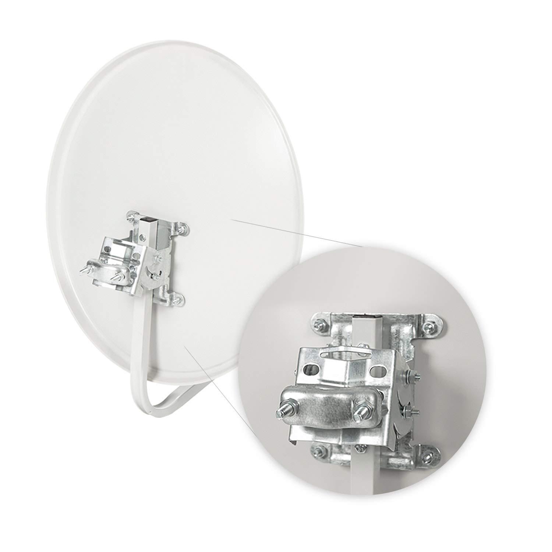 Diesl.com Cable LNB Pack 5 Kits Parab/ólica 60cm Soporte
