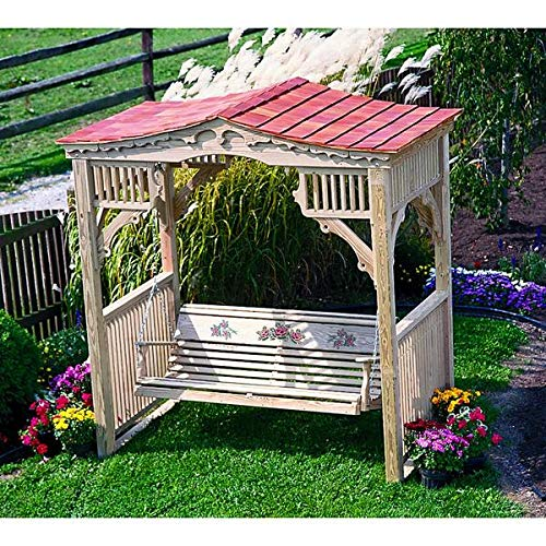 LuxCraft Deluxe Treated Victorian Swing Stand