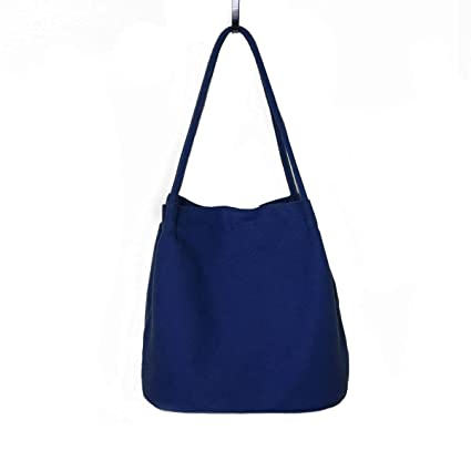 260e7de6bc8f6 Ecokaki Women s Dual-Function Shoulder Bag Canvas Drawstring Bag ...