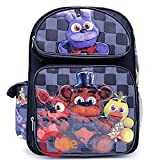 Five Nights at Freddys Large Backpack 16'' inches Boys School Book Bag